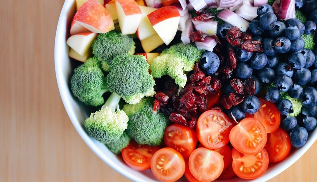 Vegetables and Fruits for Blending