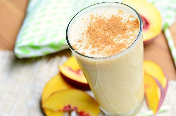Peaches And Cream Shake