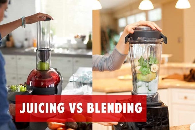 Juicing And Blending Food