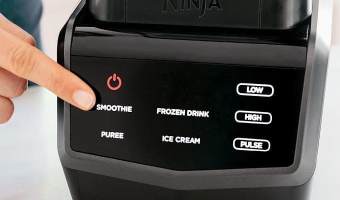 Ninja Blender Touch Screen