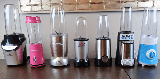 7 Different Smoothie Blenders