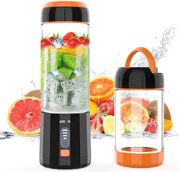 LOZAYI Portable Blender Camping USB - Battery Powered