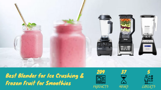 Best Blender for Ice Crushing, Frozen Fruit, Ice Cream, Ice Drinks, and Smoothies