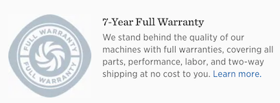 Vitamix 5200 Warranty