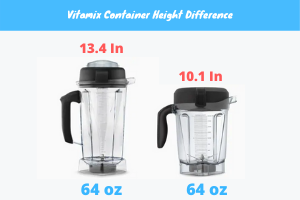 Vitamix 5300 Container Height: Low Profile vs Classic Standard Vitamix Container