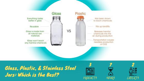 Glass vs. Plastic Blender Jars