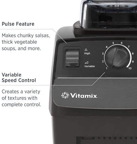 Vitamix 5200 Control Settings