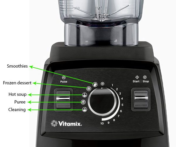 Vitamix 750 - 5 preset setting programs & what they mean